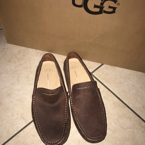 03c5d60d830 Men's UGG HENRICK leather loafer #8.5 NWT